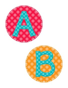 Kindergarten ABC Word Wall