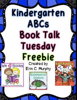 Kindergarten ABCs Write the Room FREEBIE