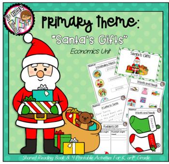 Kindergarten AND First Grade Theme - Santa's Economics