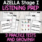 Kindergarten AZELLA Practice - Listening Prep