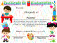 Kindergarten Achievement Award Complete Editable!!! Spanish & English version