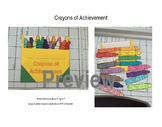 Kindergarten Sight Word and CCSS Achievement Crayons