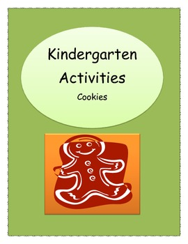 Different Types Of Activities For Kindergarten Cookies By Miss