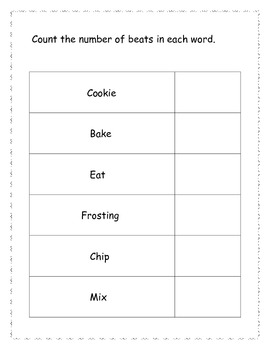 Different Types of Activities for Kindergarten: Cookies