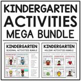 Kindergarten Activities Mega Bundle (Seasons + Holidays)