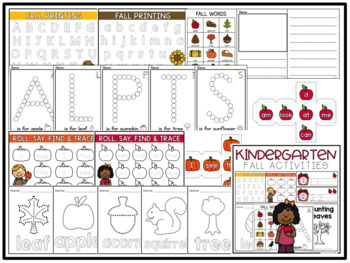 Kindergarten Activities Mega Bundle (Seasons + Holidays)