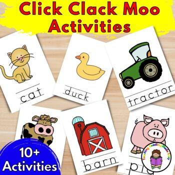 click clack moo coloring pages