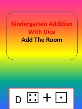 Kindergarten Adding With Dice