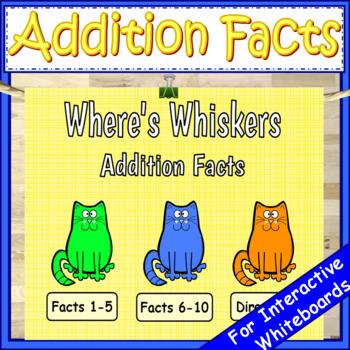 Kindergarten Addition Facts Math First Grade