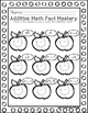 Kindergarten Addition Facts Student Record Charts
