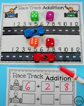 Addition Worksheets and Centers