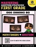 1st Grade Addition: (NO PREP) Math Fingers