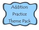 Kindergarten Addition Practice