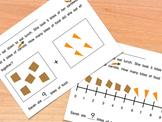 Kindergarten Addition Word Problem - Differentiated Proble