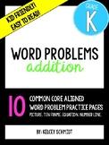 Kindergarten Addition Word Problems