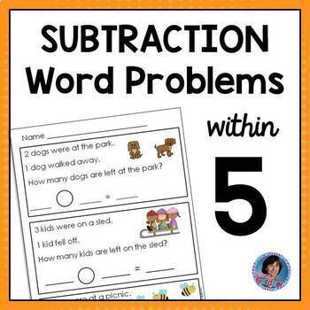 Kindergarten Math - Addition and Subtraction Bundle