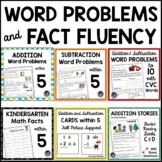 Kindergarten Math: Addition, Subtraction & Word Problems Independent Work Packet