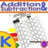 Kindergarten Addition and Subtraction (K.OA.A1; K.OA.A2; K.OA.A5)