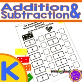 Addition and Subtraction Worksheets | Distance Learning