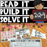 Kindergarten Addition and Subtraction Math Center   Read i