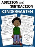 Kindergarten Addition and Subtraction Worksheets
