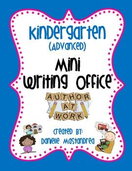 Kindergarten (Advanced) Mini Writing Office