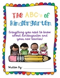 Kindergarten Advice Book, End of the Year Writing