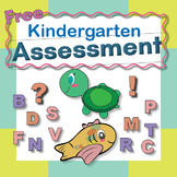 Kindergarten Alphabet Assessment