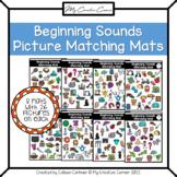 Kindergarten Alphabet Beginning Sounds Picture Matching Mats