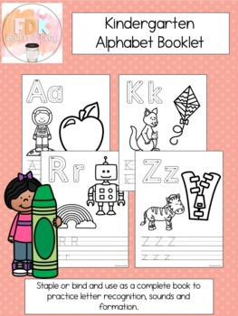 Kindergarten Alphabet Book
