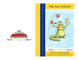 "Kindergarten Alphabet Books ""Ask Any Animal"""