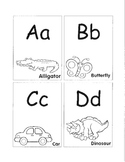 Kindergarten Alphabet Card