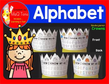 Kindergarten Alphabet Crowns