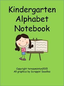 Kindergarten Alphabet Notebook