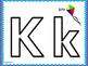 Kindergarten Alphabet Play-Doh Mats