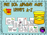 Kindergarten Alphabet Play-Doh Mats