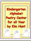 Kindergarten Alphabet Poetry Center/Station for all Year