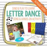 Kindergarten Alphabet Song: Letter Dance A-Z