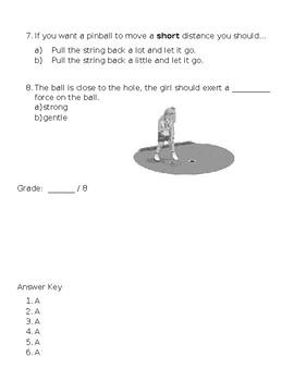 Kindergarten Amplify Unit 3, Chapter 2 Test