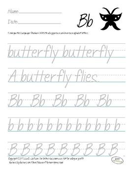 Kindergarten Animal Alphabet