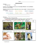 Core Knowledge - Kindergarten - Animal Unit - Carrying Babies