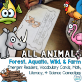 Animals, Life Science Activities