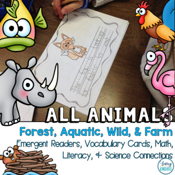 Animals, Life Science Activities