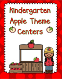 Kindergarten Apple Centers
