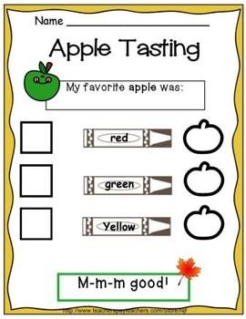 Kindergarten Apple Fun