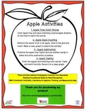 Kindergarten Apple Fun