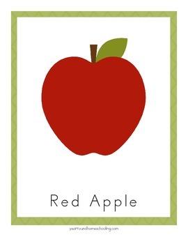 Kindergarten Apple Pack