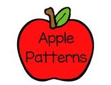 Apple Pattern Math Centers