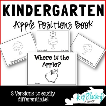 Kindergarten Apple Positions