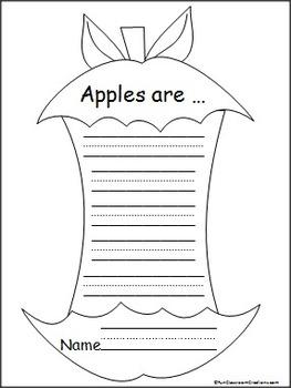 Kindergarten Apple Unit